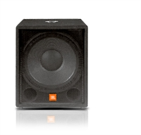 """Picture of JBL PRO JRX118S 18"""" Compact Subwoofer"""